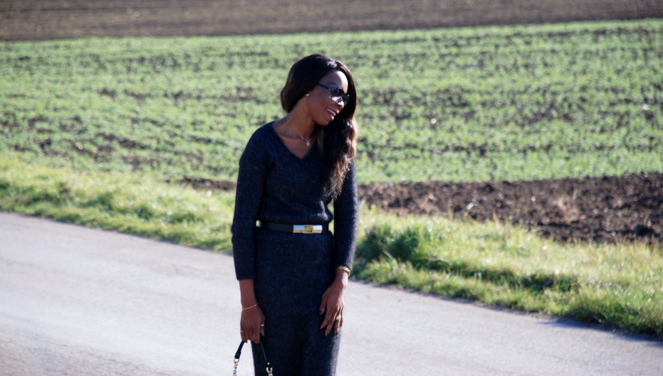 Style Sequence//Love For Knitted Sweater Dress