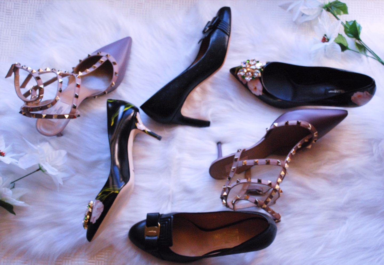 Kitten Heel Shoes/ Tall Divas