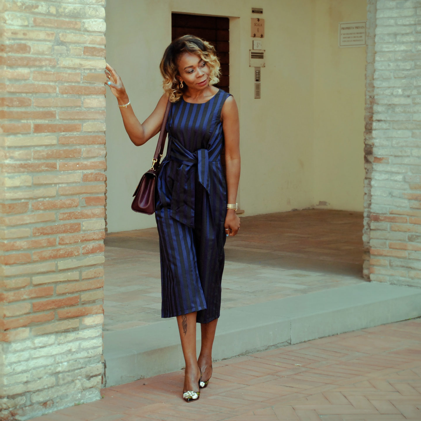Sharing A Tie Front jumpsuits For Spring and summer