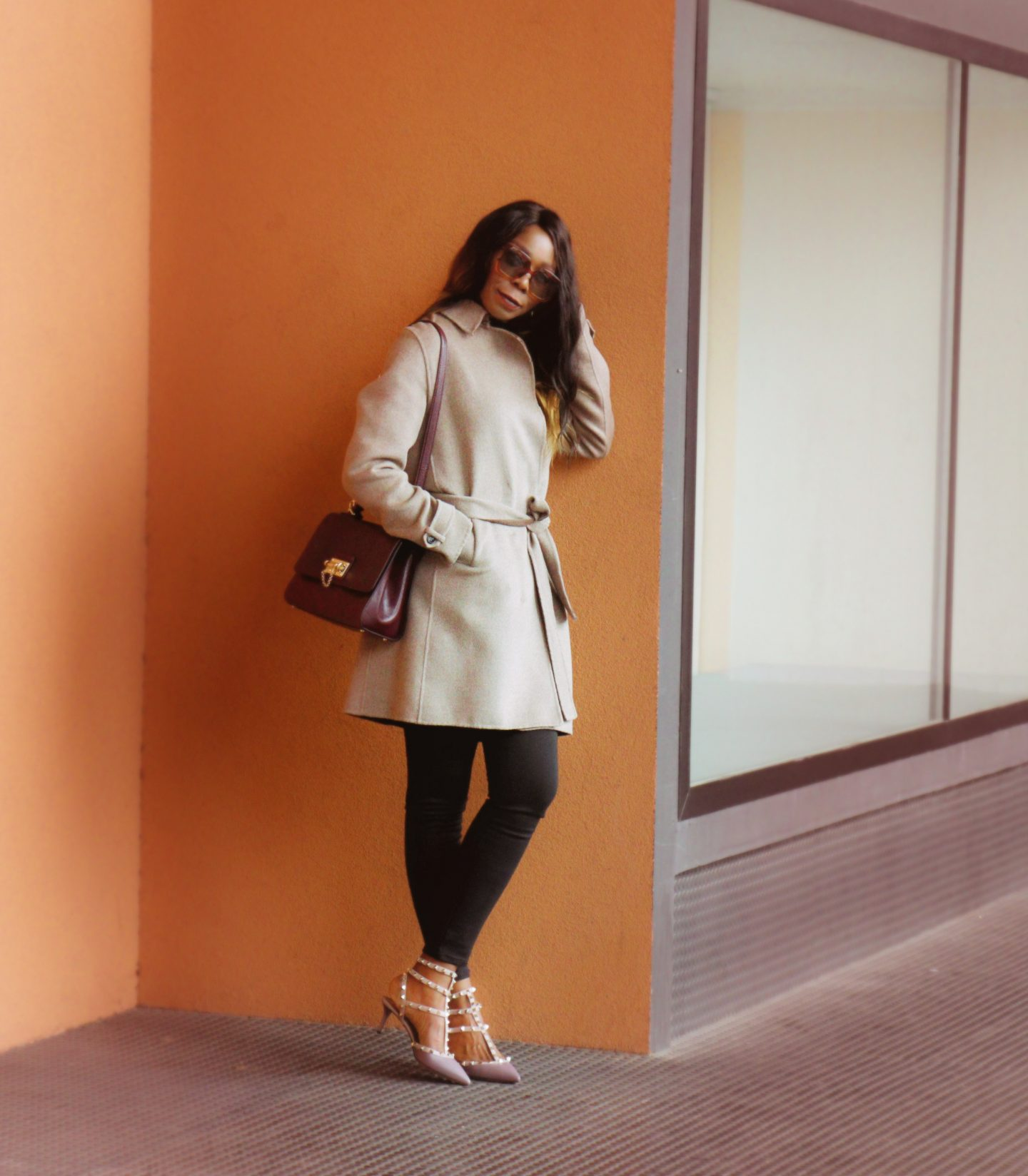 On Revamped Metallic Blouse For Fall/Winter