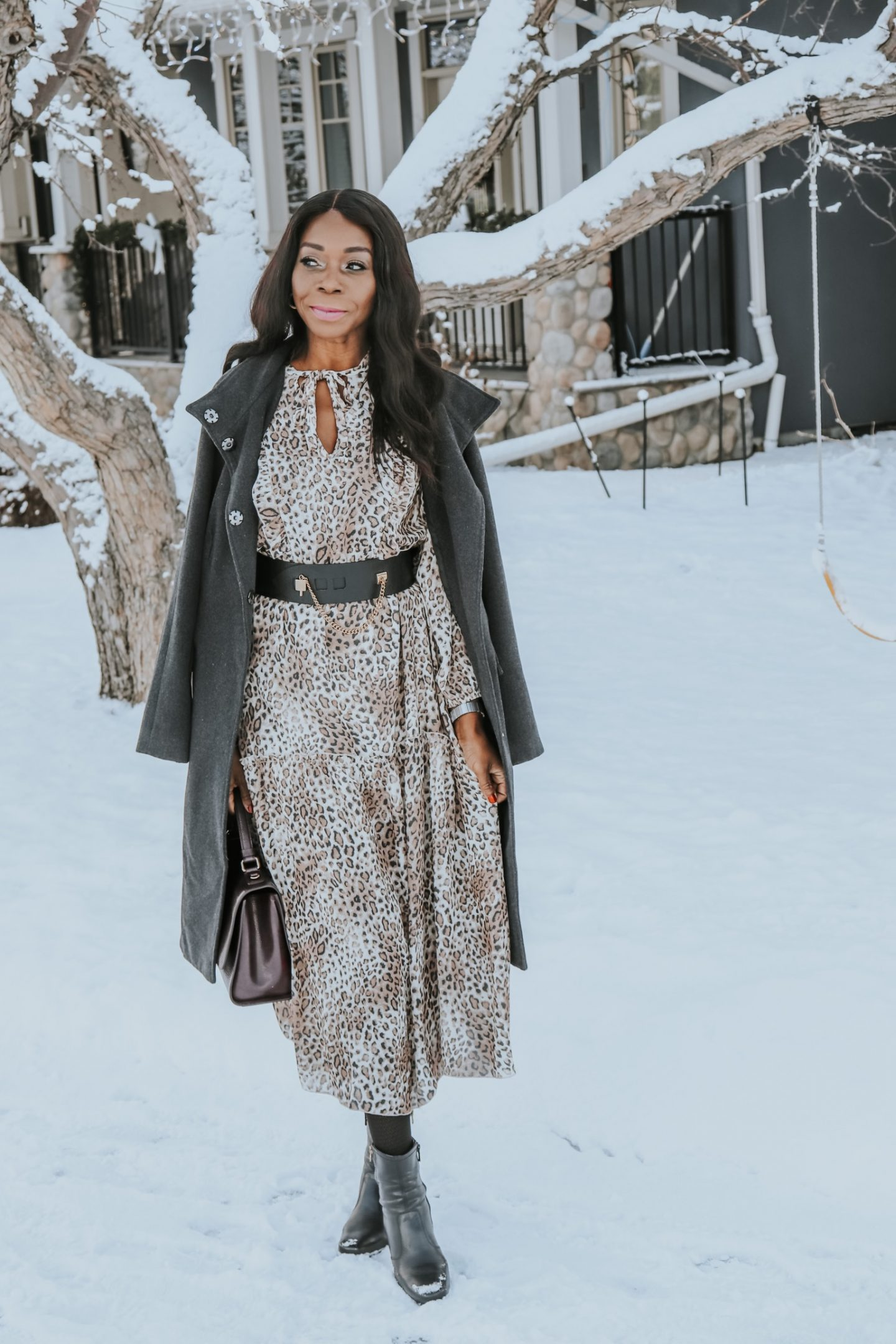 Wearing Leopard Print For The New Year 2020 // Winter Style
