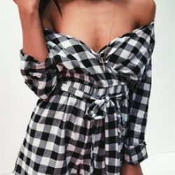 http://www.misspap.co.uk/ruby-black-gingham-check-wrap-playsuit-/