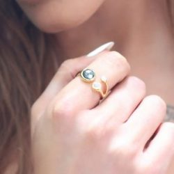 http://www.missoma.com/stackable-rings/1624/gold-hematite-rainbow-moonstone-pave-cosmic-ring/